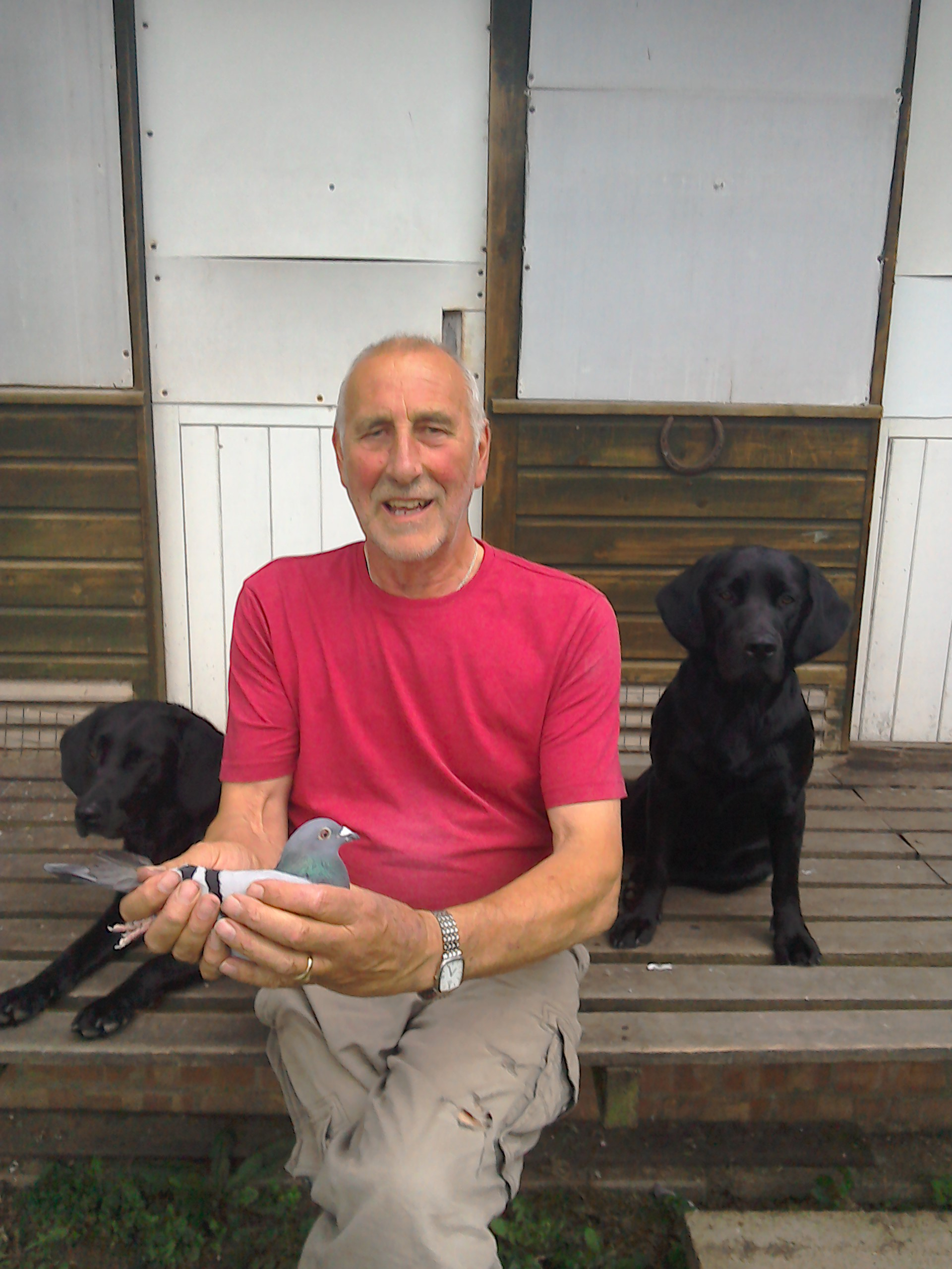 Bellerby John anc 17 with his bird and gun dogs