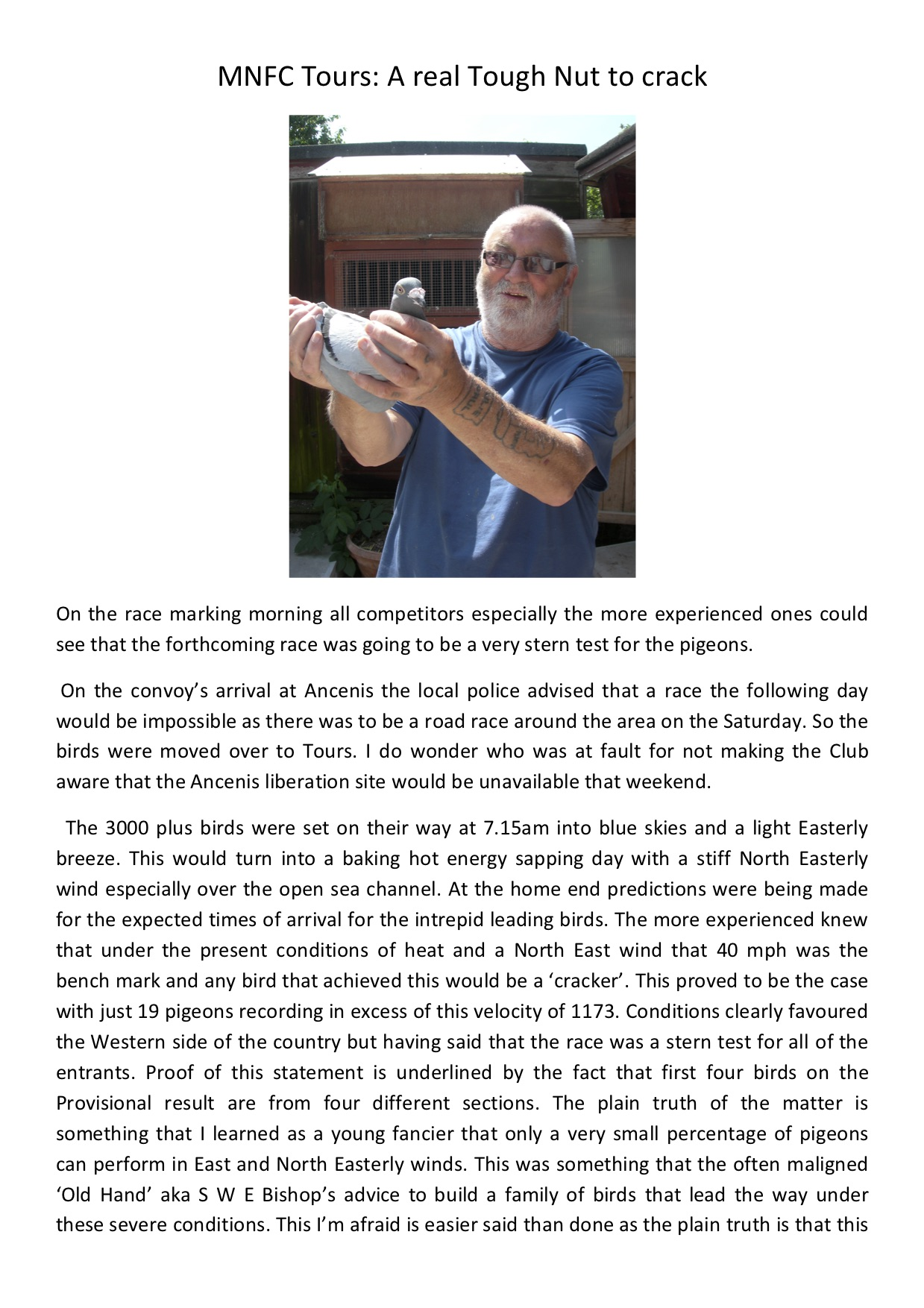 2018 MNFC Tours flash report 1
